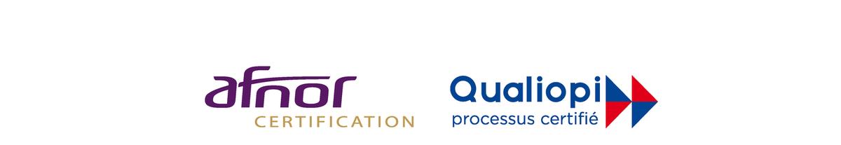 Logo Afnor Certification Qualiopi